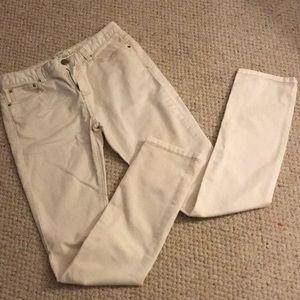 Ivory Denim Free People Jeans